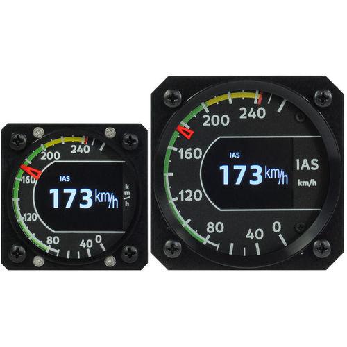 aircraft airspeed indicator / electronic