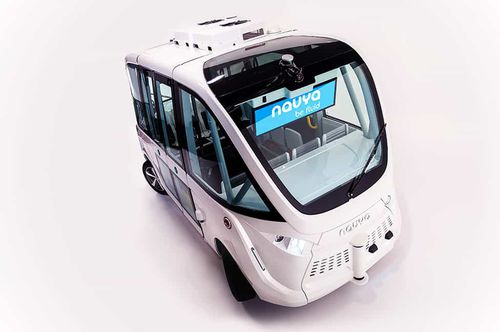 airport apron bus / 15 Pers. / electric / autonomous