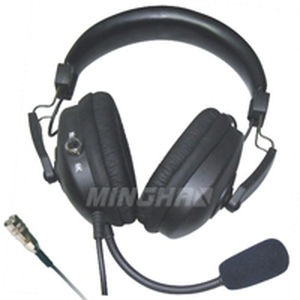 commercial aviation aviation headphones / for pilots / noise-reduction