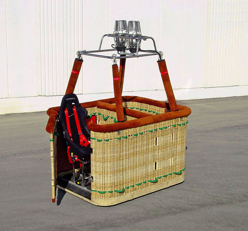 accessible hot-air balloon basket