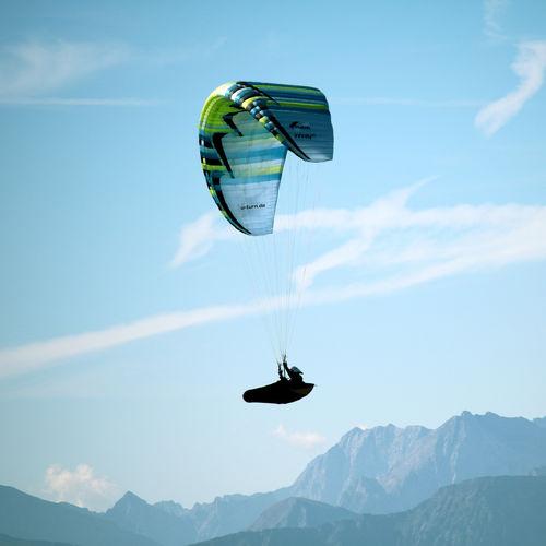 performance paraglider / intermediate / beginner / single place