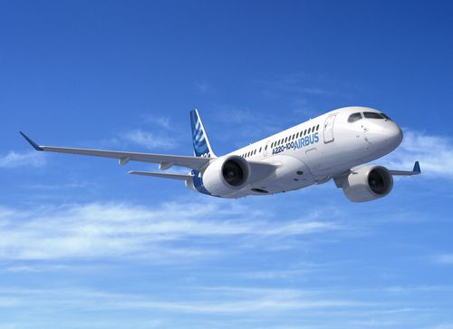 medium-range commercial aircraft