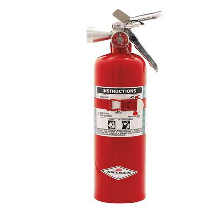 halon fire extinguisher / for airports