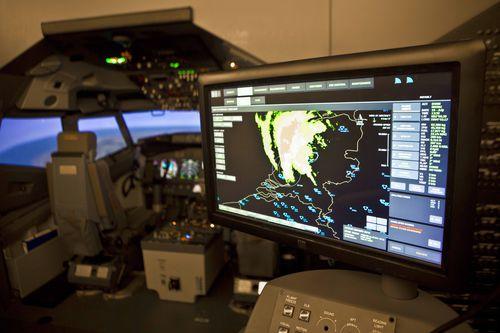 flight simulator / cockpit