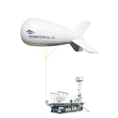monitoring airship / advertising / helium / rigid
