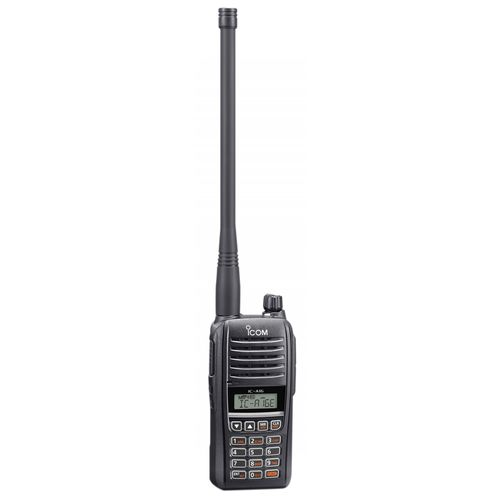 VHF walkie-talkie / for airports / portable