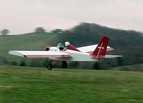 Single-seat ULM aircraft / sport / 4-stroke engine / kit 1550V V-Max Team  Mini-Max LLC