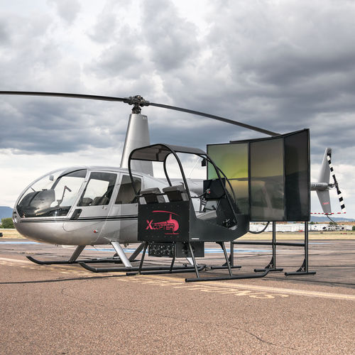 helicopter simulator / cockpit