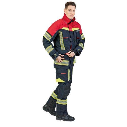 work jacket / firefighter / waterproof / fire-resistant