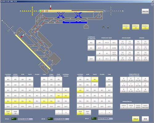 control software / monitoring / for aeronautics / for control towers