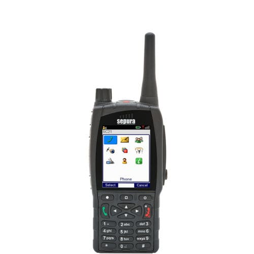 UHF walkie-talkie / for airports / portable