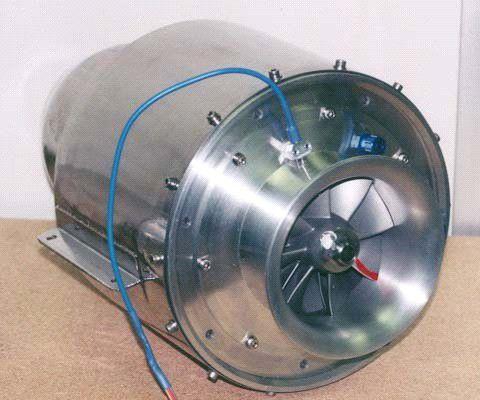 0 - 100kN turbojet / 0 - 100kg / for drones