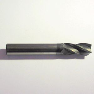 diamond-coated milling cutter