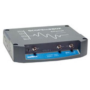 digital oscilloscope / 2-channel / portable / for the aeronautical industry