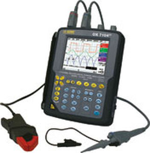 digital oscilloscope / 4-channel / portable / for the aeronautical industry