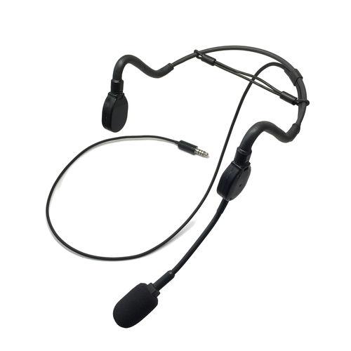 aircraft headset / for pilots / lightweight
