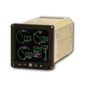 digital engine monitoring system / for aircrafts
