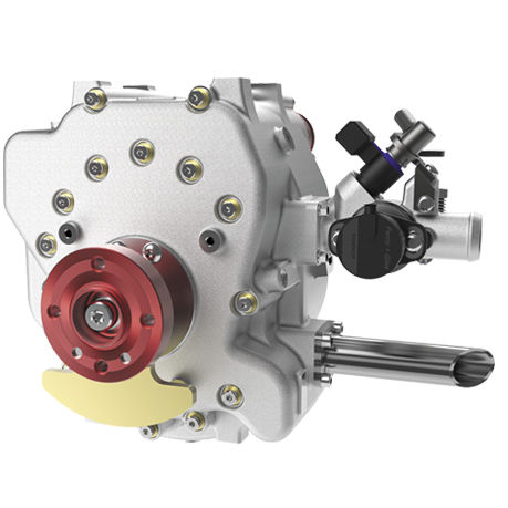 0 - 25kW Wankel engine / 0 - 25kg / single-rotor / gasoline