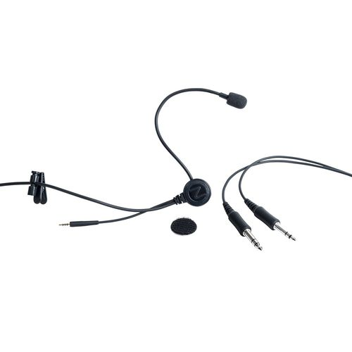 100 - 150 dB microphone / for aviation headset / for the aerospace industry