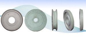 cutting grinding wheel / cylindrical / CBN / diamond