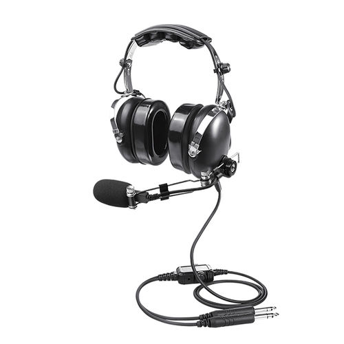 commercial aviation headset / for pilots / noise-reduction