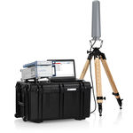 anti drone system with jammer / stationary / for airports / 2.4 GHz