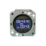 aircraft clock / digital / quartz / illuminated