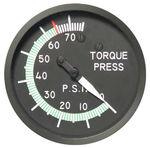 torque gauge / pressure / analog / oil