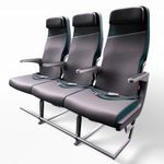 aircraft seat / for passengers