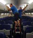 maintenance stepladder / for airplanes