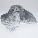 aluminum honeycomb / for aeronautics