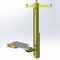 pillar lifting system / baggage / for airports