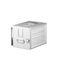 aircraft cabin storage unit / ATLAS / KSSU / aluminum