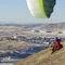 paragliding free flight harness