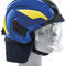 firefighter helmet / integral / with visor / protective