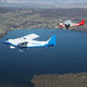 3-seater very light aircraft / single-engine / 4-stroke engine / instructional