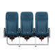aircraft seat / for passengers / with armrests