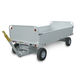 ground support baggage cart / 4-wheel / open