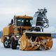truck-mounted snow blower / for airports