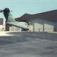 sliding hangar door