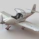 2-person private plane / single-engine / piston engine / tourism