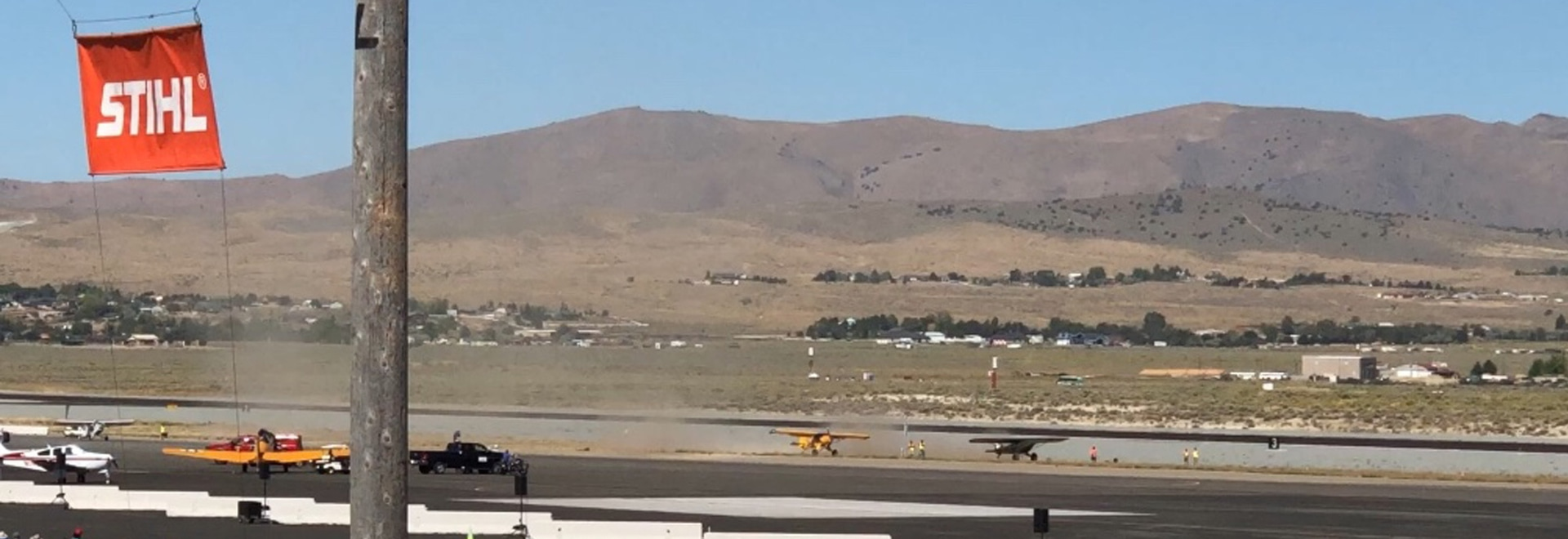 The 2019 Reno air races featured the first demonstration of the STOL Drag competition.