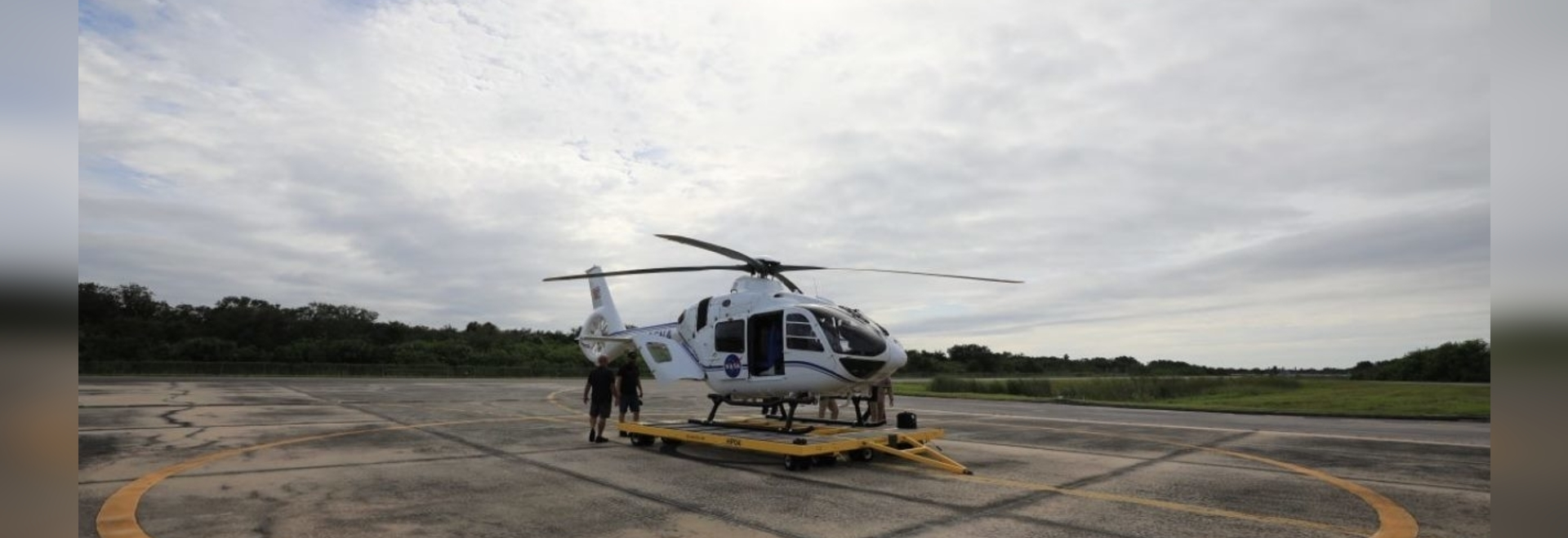 Airbus Helicopters delivers two new H135 helicopters to Nasa.