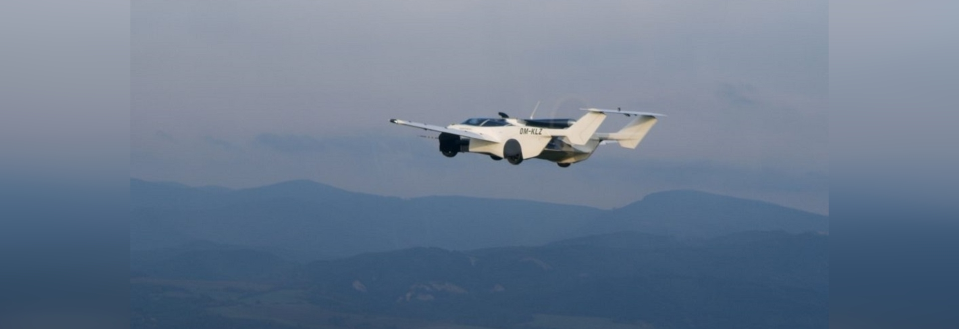 The AirCar completed a 35-minute flight from Nitra to Bratislava in Slovakia this week.