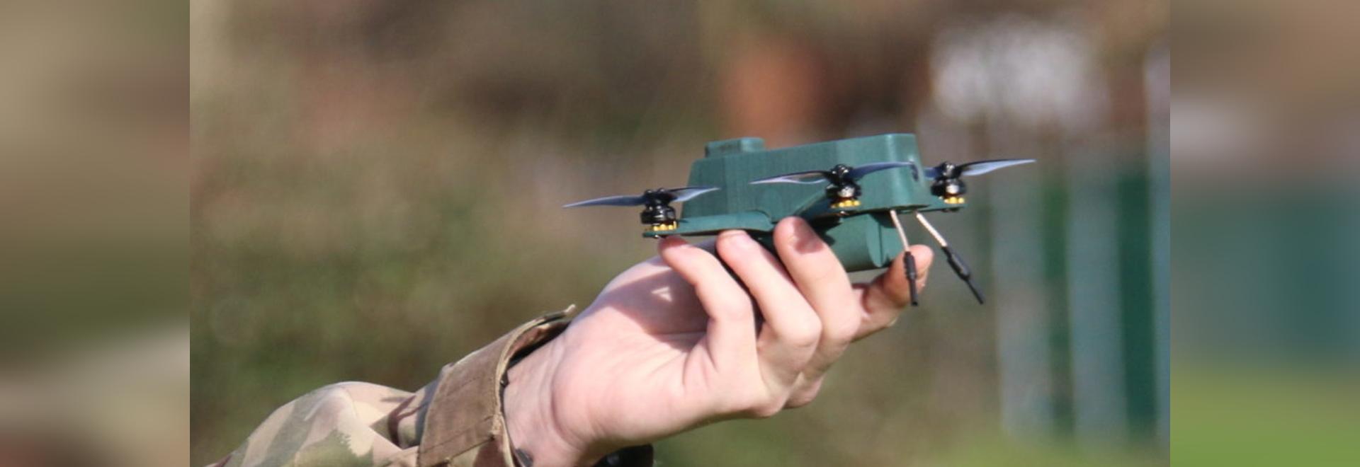 BAE Systems collaborates to develop nano bug drone