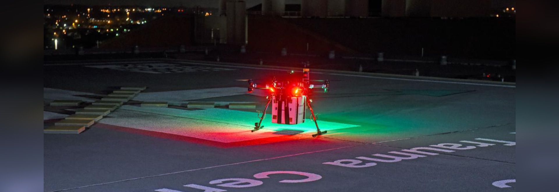 Drone delivers transplant organ in world first
