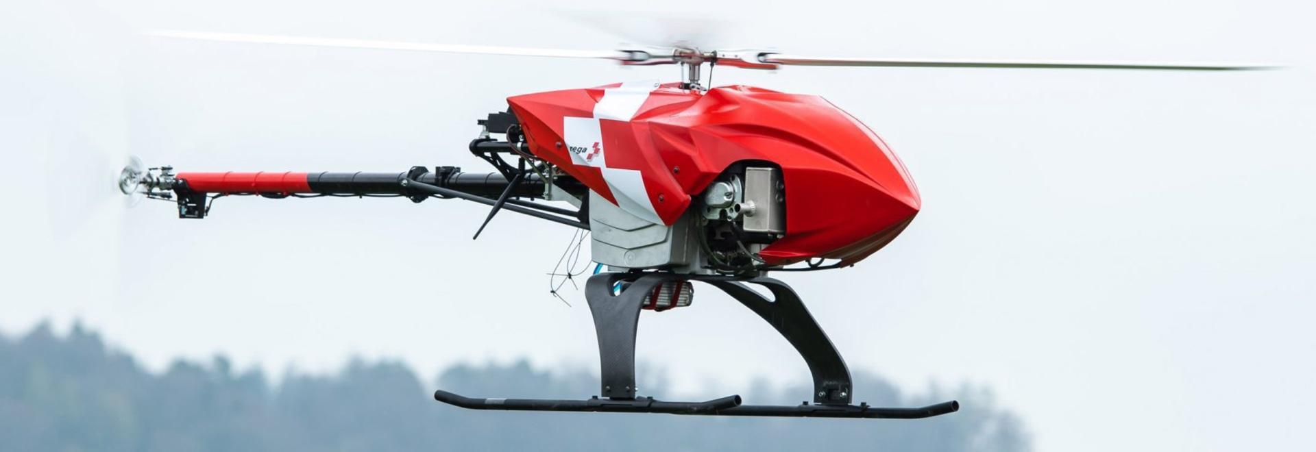 Le drone de sauvetage de la Rega recherchera les personnes disparues de manière autonome
