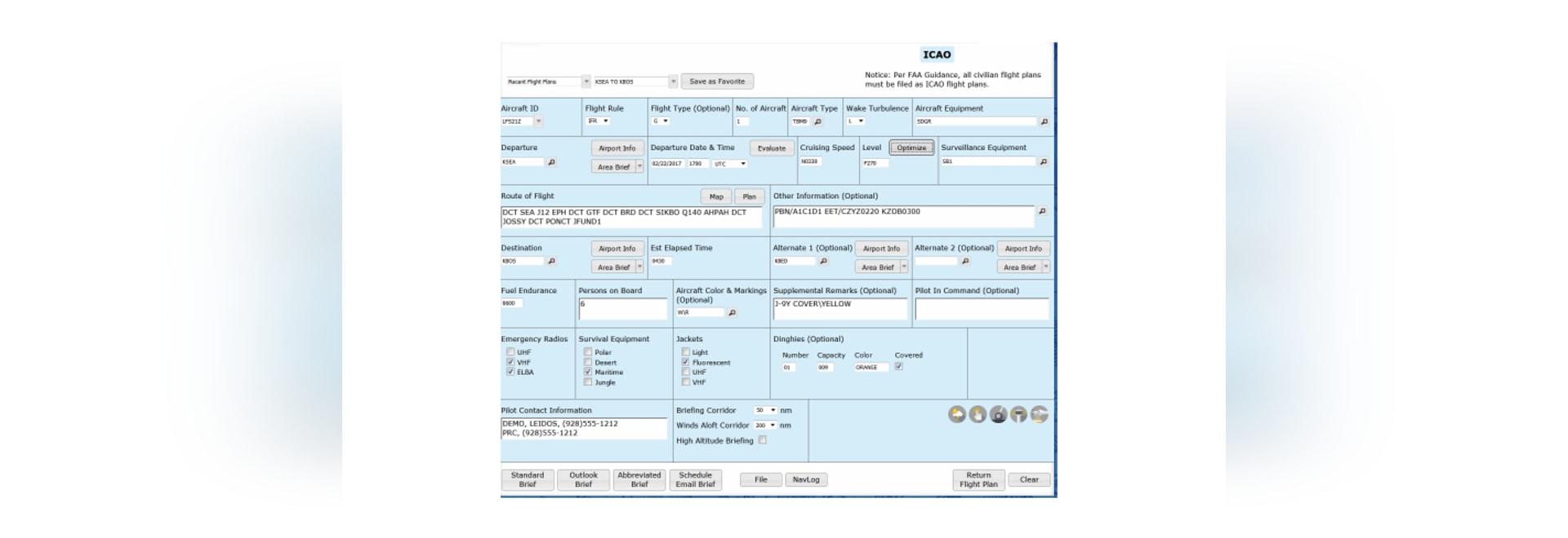 La FAA mandate un nouveau format de plan de vol