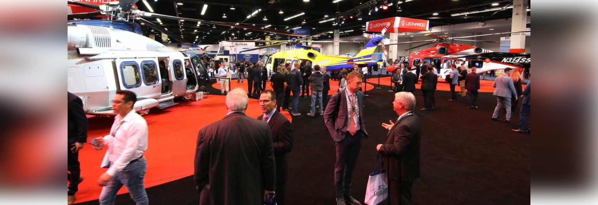 Heli-Expo in January 2020 was among the last pre-Covid aviation shows.