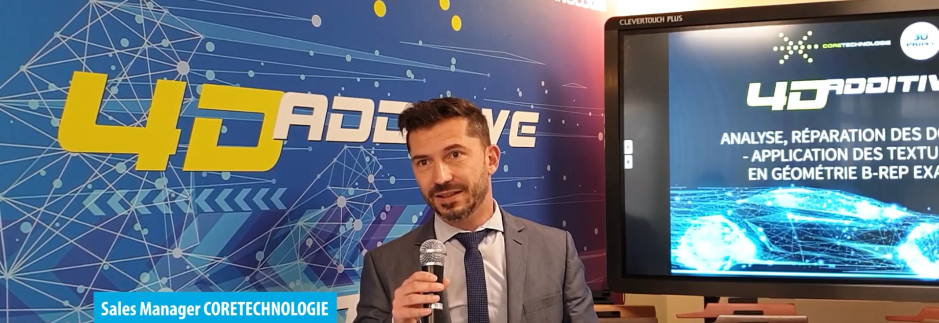 Interview with Jérôme Renard and Georges Teiti, sales developers for CoreTechnologie